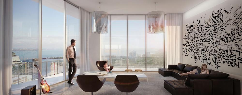 SLS Brickell Residential Condo Suite