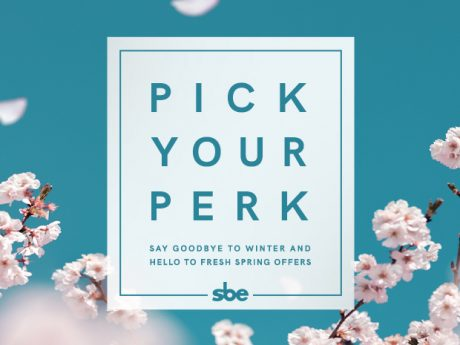 Pick Your Perk at SLS Lux Brickell
