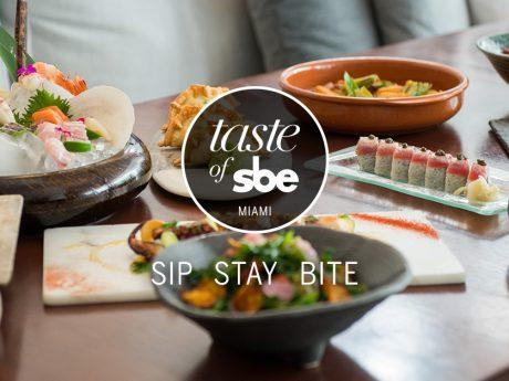 Experience Taste of sbe Miami